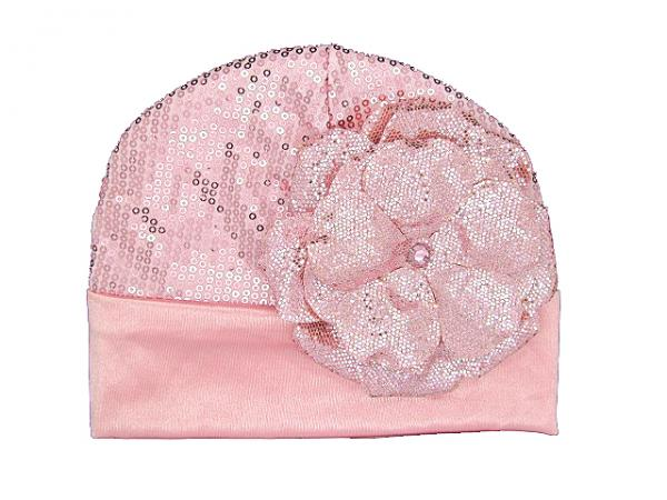 Candy Pink Couture with Sequins Pale Pink Rose