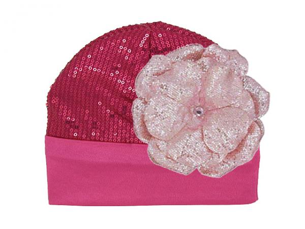 Raspberry Couture with Sequins Pale Pink Rose