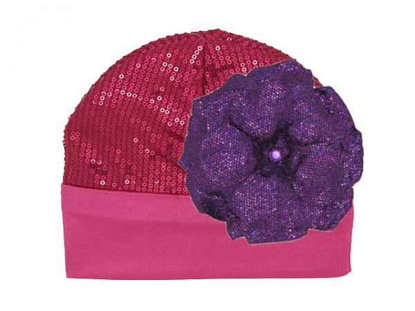 Raspberry Couture with Sequins Purple Rose