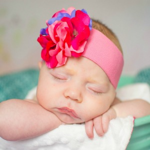Geranium Headbands