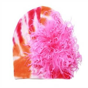 Curly Marabou Hats