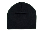 Black Cotton Hat