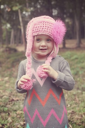 Candy Pink Winter Wimple Hat with Raspberry Large regular Marabou