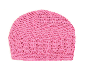 Candy Pink Crochet Hat
